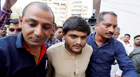 hardik patel, patidar protest, patel quota, Gujarat CM, Anandiben Patel, anandiben ahmedabad rally, Hardik mother sister detained, Hardik sedition case, gujarat news, ahmedabad news, india news