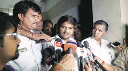 Hardik Patel's voice samples match in sedition case