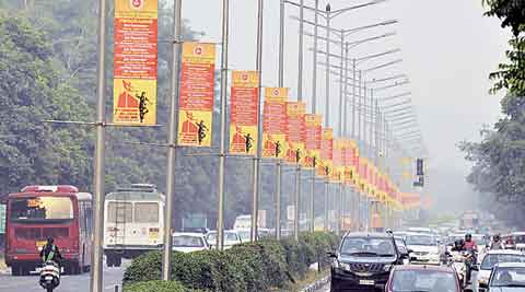 Cultural Affairs, Banners, hoardings, Municipal Commissioner, remove banners, chandigarh news