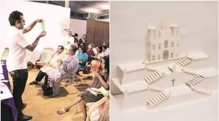 origami books, architecture books, new books, craft books, advanced craft books, in the fold, in the fold book, architecture origami, indian express, talk