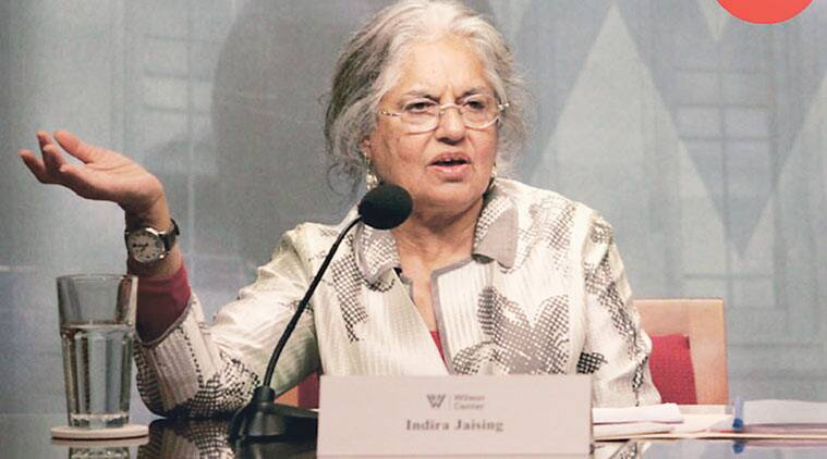 Indira Jaising is the secretary of the Lawyers Collective