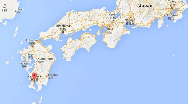 Magnitude Earthquake Strikes Off Southwest Japan The Indian - Japan map 7