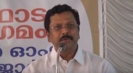 Spread the gospel, says Kerala chief secy Jiji Thomson in church