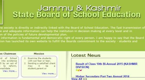 JKBOSE Class 10 regular results declared @jkbose co in | Education