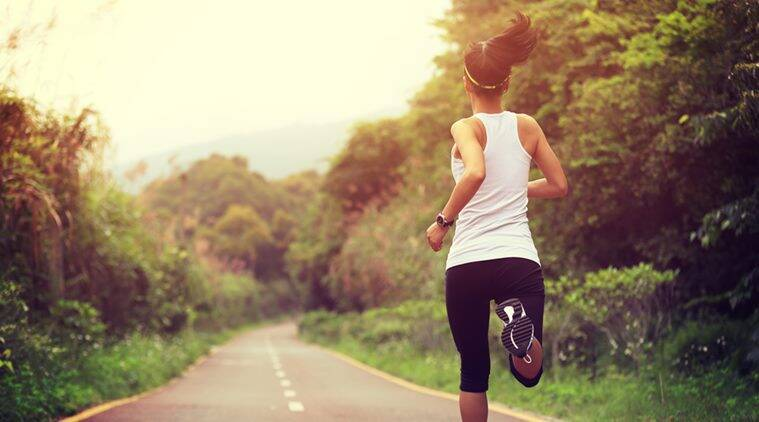 If following a routine is hard, go for a run in the park whenever you can. Doing it three times a week is ideal. (Source: Thinkstock)