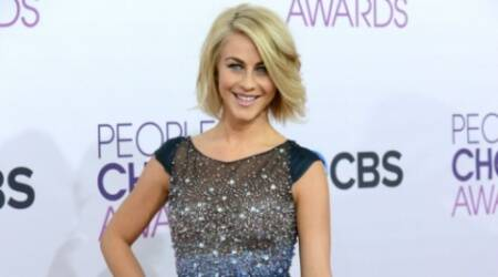 Julianne Hough more comfortablenow