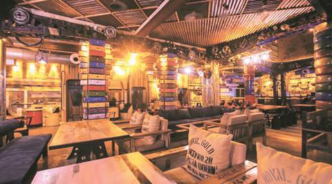 junkyard cafe, cp new restuarants, junkyard cafe cp, junkyard cafe review, delhi new restaurants, delhi news