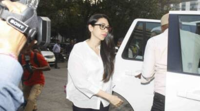 Karisma Kapoor at family court, withdraws divorce petition