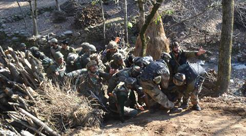 Kashmir encounter, Colonel injured, Army colonel injured, Kashmir LoC attack, Rashtriya Rifles, Nation news, india news