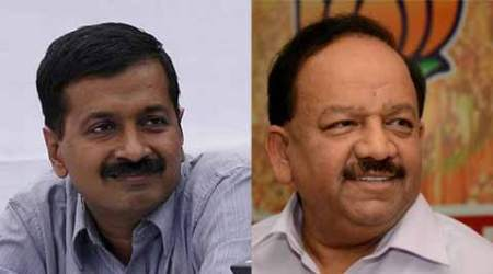 Arvind Kejriwal, Harsh Vardhan, Sheila Dikshit, Kejriwal praises Shiela, Azadpur-Prembari Pul corridor, Sheila Dikshit government, Delhi government, Delhi news