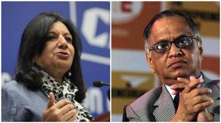 Kiran Mazumdar Shaw 'disturbed', Narayan Murthy says minorities afraid