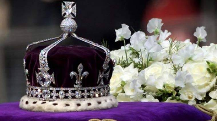 The 105-carat stone Koh-i-Noor, believed to have been mined in India nearly 800 years ago, was presented to Queen Victoria during the Raj and is now set in a crown belonging to the Queen's mother on public display in the Tower of London. (Source: Reuters photo)