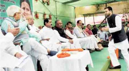 RJD, Lalu Prasad, MLA official bungalows, Tejashwi Prasad Yadav, indian express, india news