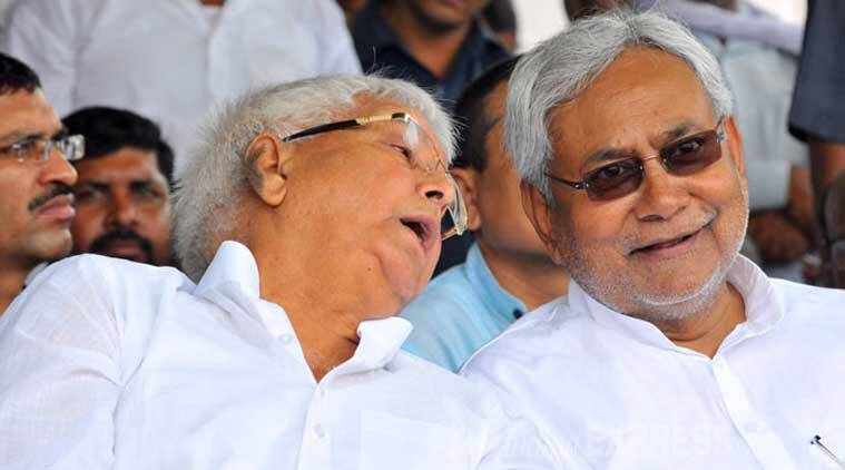 nitish kumar, lalu prasad, RJD chief, Bihar CM, lalu nitish, lalu nitish inaugurates bridge project, assembly polls, tejaswi yadav