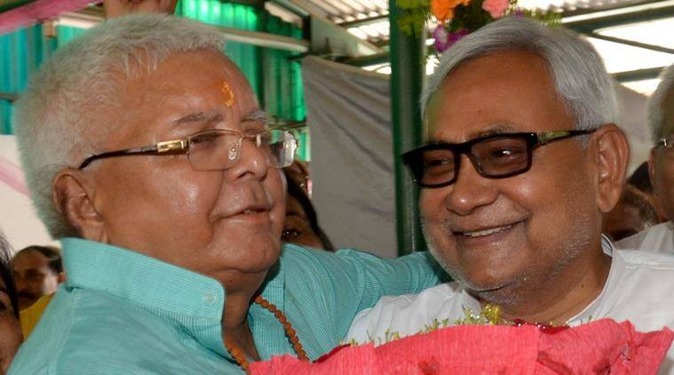 Lalu Prasad Yadav and Nitish Kumar
