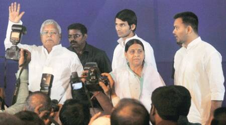 lalu prasad, nitish kumar, lalu nitish, lalu nitish grand alliance, grand alliance partners, bihar polls, lalu nitish bihar polls, bihar polls result, bihar news, india news