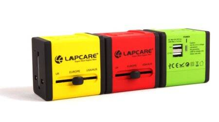 lapcare, travel adapter, lapcare globe trotter travel adpater, cheap US adapter, universal travel adapter, technology news