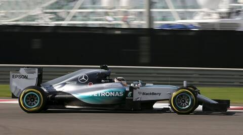 Mercedes Formula One driver Lewis Hamilton of Britain drives during the first free practice session of Abu Dhabi F1 Grand Prix at the Yas Marina circuit in Abu Dhabi November 27, 2015. REUTERS/Hamad I Mohammed