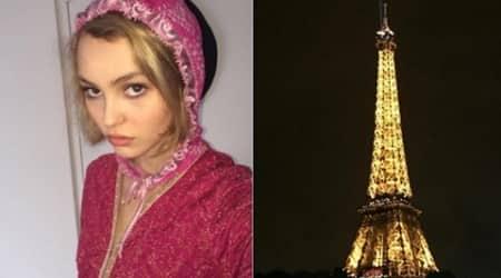 Johnny Depp's daughter Lily-rose Depp escaped Parisattacks