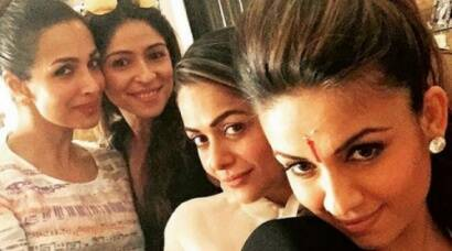 Malaika Arora Khan, Natasha Poonawalla, Amrita Arora, bollywood