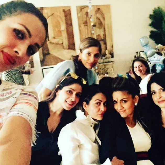 Malaika Arora Khan, Amrita Arora, Natasha Poonawalla, Maheep Kapoor, Bhavna Pandey, Pamela Godrej, Natasha Poonawalla baby shower, bollywood, entertainment