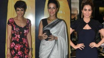 Mandira Bedi, Neha Dhupia at Shaheen Abbas' jewellery launch