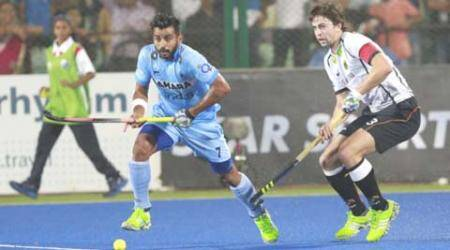India show fight, hold Germany to a draw