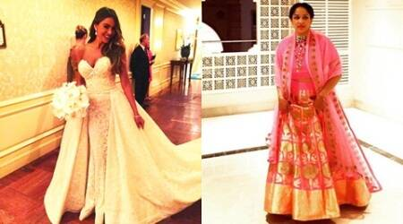 Sofia Vergara & Masaba Gupta: Two style divas and their wedding couture