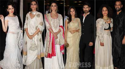 Masaba's grand wedding reception – Shahid, Mira, Sonam, Alia, Kangana shine