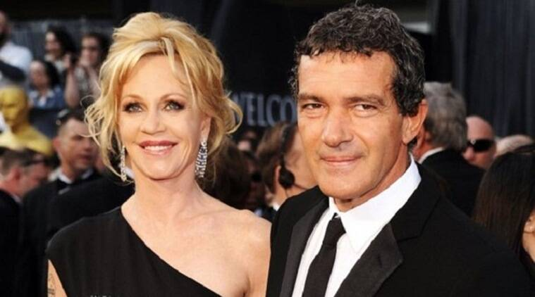 Antonio Banderas with Wife Melanie Griffith