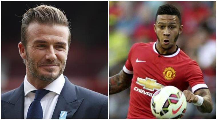 fa544e9f1 David Beckham says Number 7 shirt should inspire Memphis Depay ...