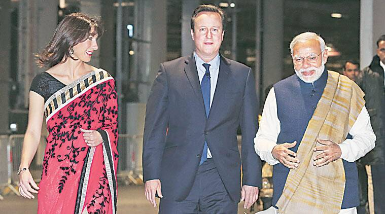 Narendra Modi, David Cameron, Modi in UK, Modi UK visit, Modi UK, Modi visits UK, Modi Cameron, Modi 10 downing street, modi david, modi united kingdom, India UK relationship, India news