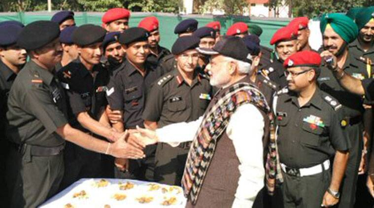 narendra modi, modi diwali, diwali, modi army troops, modi indian soldiers, Barki War Memorial, modi dograi memorial, modi news, modi army troops, modi army diwali, india news