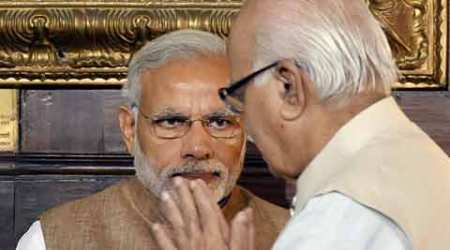 L K Advani, Narendra Modi, Advani birthday, Modi meets Advani, L K Advani birthday, Nation news, india news