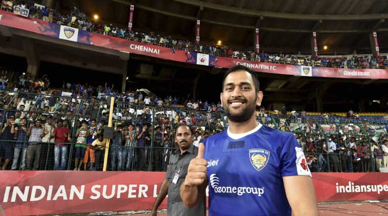 ms dhoni, chennaiyin fc, ms dhoni isl, ms dhoni chennaiyin fc, isl, indian super league, isl 2016, delhi dynamos vs chennaiyin fc, ms dhoni chennaiyin fc, football news, sports news