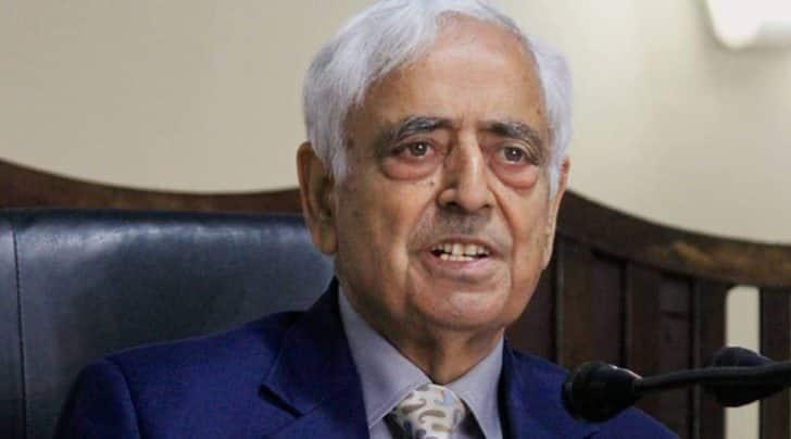 Jammu and Kashmir Chief Minister Mufti Mohammad Sayeed (PTI Photo)