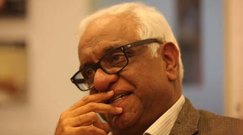 Idea Exchange with Mukul Mudgal. Express archive photo