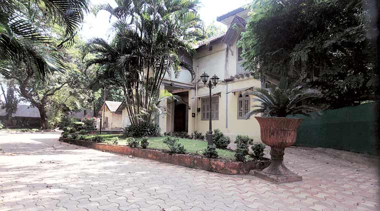 According to reports, Mayor Snehal Ambekar may now shift to this bungalow inside the Byculla zoo premises. She, however, said the location was not final yet.  (Express Photo by Dilip Kagda)