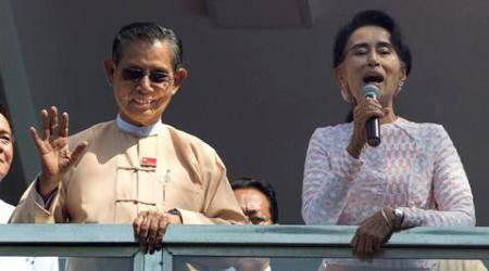 Myanmar transition to democracy on track after Suu Kyi win