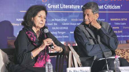 Chandigarh Literature Festival: 'Returning awards a non-violent protest to safeguard fundamentals, says Nayantara Sahgal