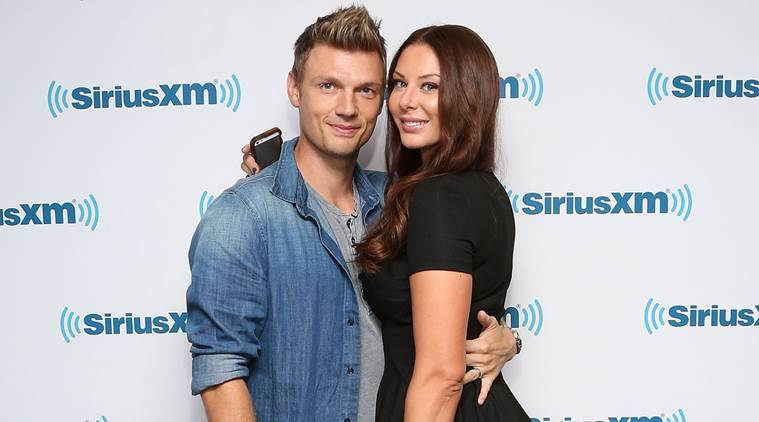 nick carter wife expecting son the indian express