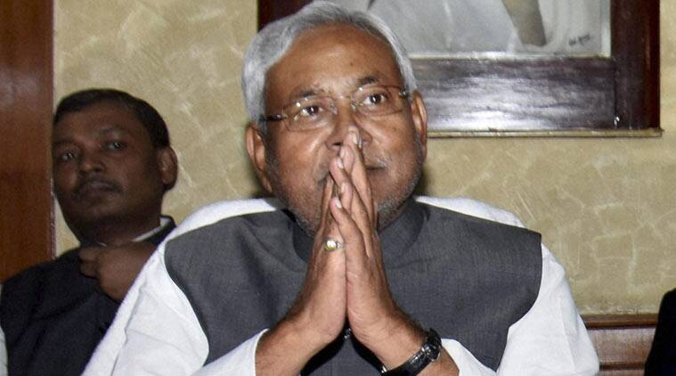 Bihar, Nitish Kumar, Bihar CM, Bihar chief minister, BSF jawan, Vikas Kumar Mishra, BSF jawan's family, ex-gratia, BSF family ex-gratia, 11 lakhs, pakistan shelling, jammu and kashmir, india news, indian express