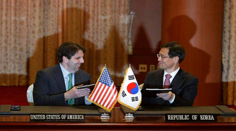 a new nuclear treaty between the United States and South Korea  will govern its commercial nuclear activities for the next 20 years is set to enter into effect.