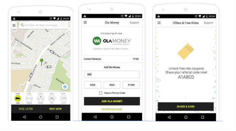 Ola, Ola Shuttle, BlaBla Car, Shuttl, Ibibo Ryd, cab sharing apps, share cabs, cheap travel options, smartphone, travelling apps, ride sharing apps, Ola review, BlaBla car review, Shuttl review, Ibibo ryd review, technology, technology news