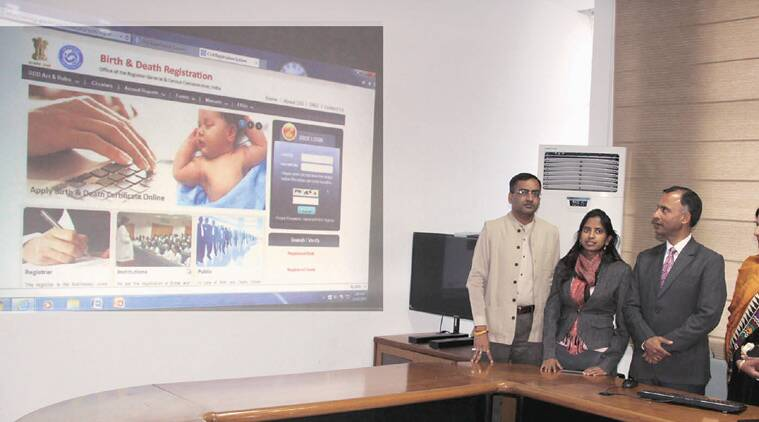 Now Get Birth Death Certificates Online The Indian Express