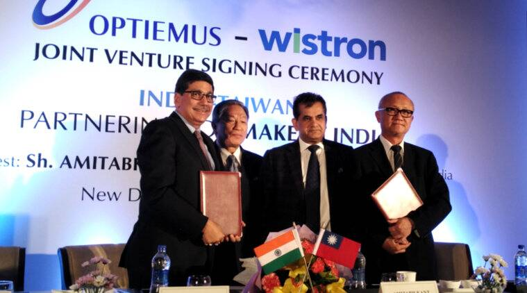 Make In India, Optiemus Infracom, Wistron Corporation, smartphone, mobile manufacturing, smartphones, telecom news, Zen mobile, technology news