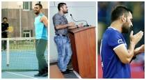 Away from cricket, MS Dhoni enjoys tennis, football