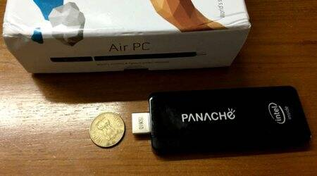 Panache Air PC, Intel PC on a stick, PC on a stick, pen drive computer, Panache, Panache Air PC review, Panache Air PC price, technology news