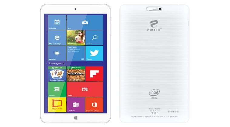 Pantel Penta WS802X is a budget tablet running Windows 10 Home Edition (Source: Pantel Technologies)