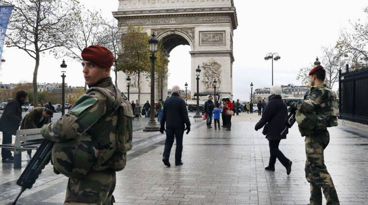 france to deploy nearly 11 000 police for climate summit in paris world news the indian express. Black Bedroom Furniture Sets. Home Design Ideas